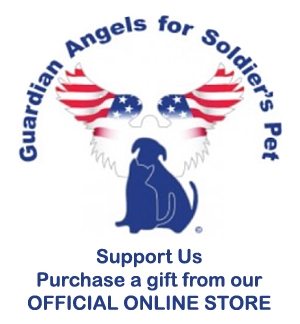 Guardian Angels for Soldier's pet official online store.